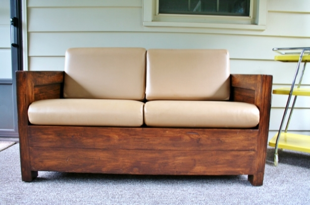 staining-a-love-seat