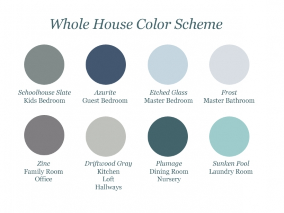 Whole-House-Color-Scheme-teal-and-lime
