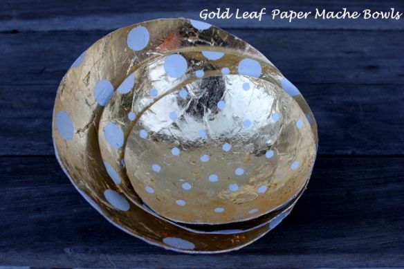 golden-leaf-paper-mache-bowels-elegant-nest