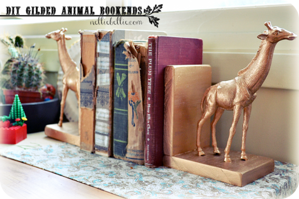 nellie-bellie-plastic-animal-golden-bookends