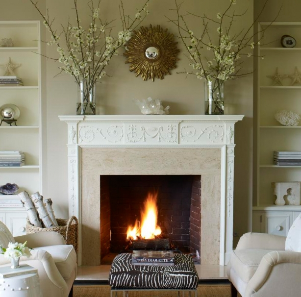 Creative ways to style a mantel - Creative decoration ideas for home without ripping you off ...