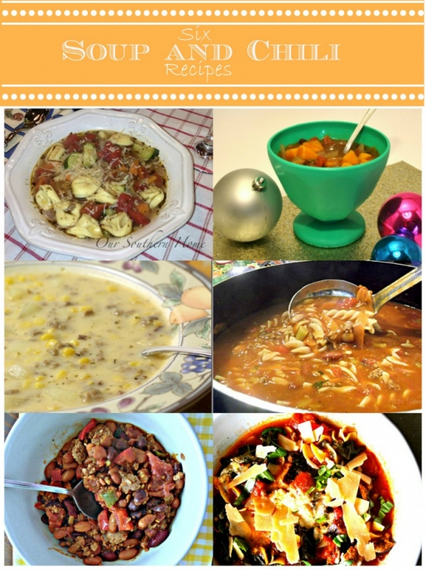Six Soup and Chili Recipes | www.rappsodyinrooms.com