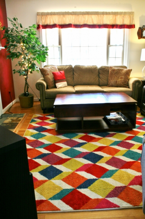 Decorating with a Spouse - Our Rug Story | www.rappsodyinrooms.com