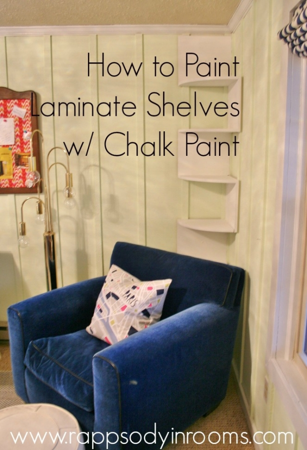how to use chalk paint on new wood