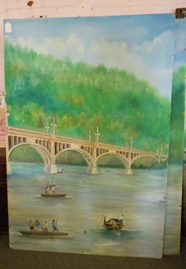 thrift-store-adventures-huge-paintings