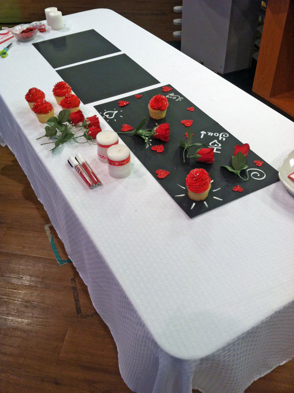 Hometalk and WSLS TV Segment for Valentines Day | www.rappsodyinrooms.com