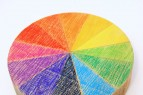 How to Make a Wooden Color Wheel | www.rappsodyinrooms.com