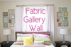 How to Make a Fabric Gallery Wall | www.rappsodyinrooms.com