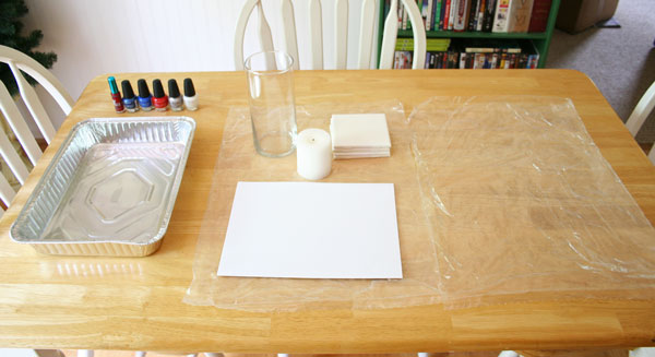 Marbling with Nail Polish | www.rappsodyinrooms.com