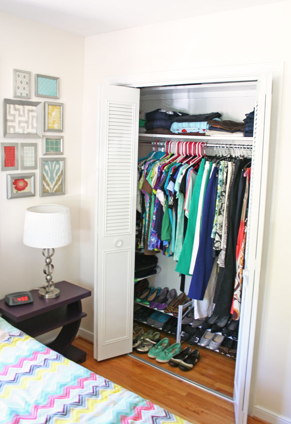 To Color Or Not: Painting A Closet White