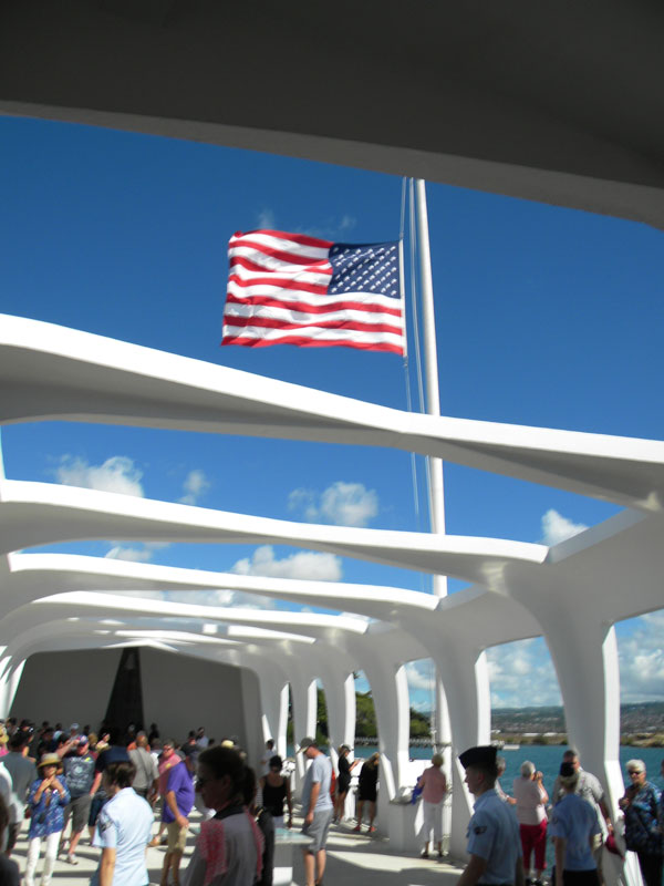 Pearl Harbor Oahu Hawaii | www.rappsodyinrooms.com