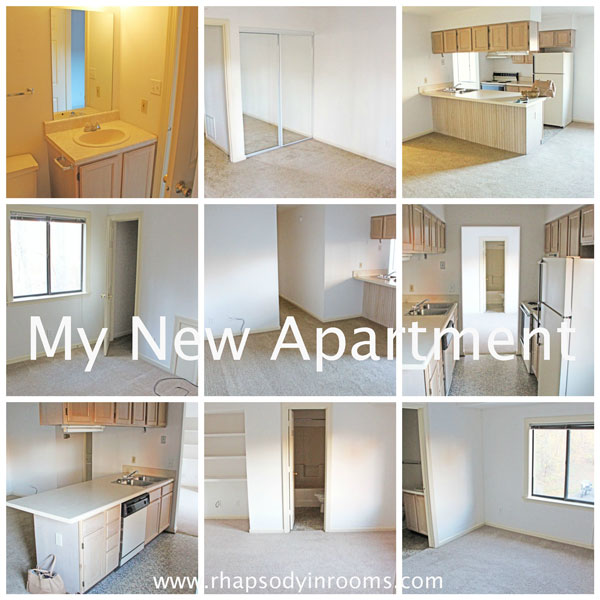 My Empty Apartment Tour | www.rhapsodyinrooms.com