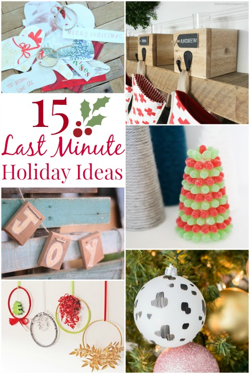 Last minute holiday ideas | www.rhapsodyinrooms.com