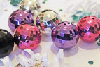 New Years Disco Balls Gifts | www.rhapsodyinrooms.com