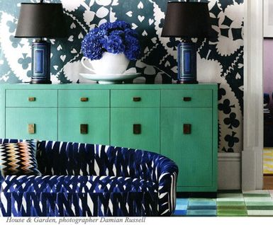 Emerald And Navy Color Scheme