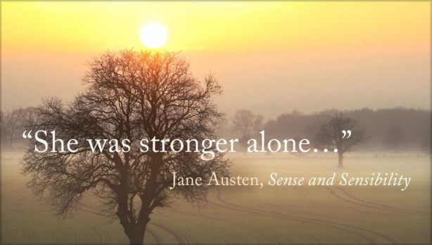 She Was Stronger Alone | www.rhapsodyinrooms.com