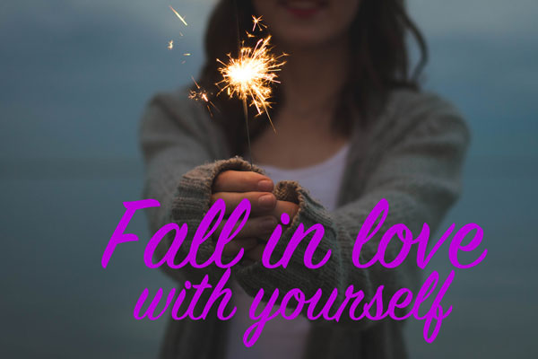 Fall in love with yourself | www.rhapsodyinrooms.com