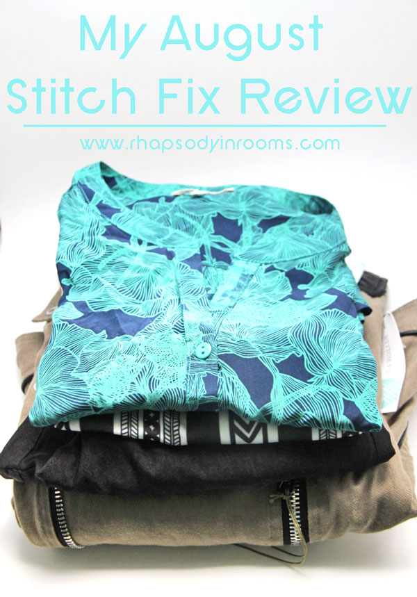 My August Stitch Fix Review | www.rhapsodyrinrooms.com