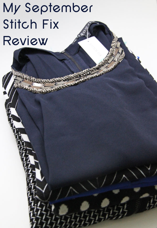 My September Stitch Fix Review | www.rhapsodyinrooms.com