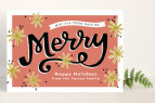 Holiday Postcards from Minted |www.rhapsodyinrooms.com