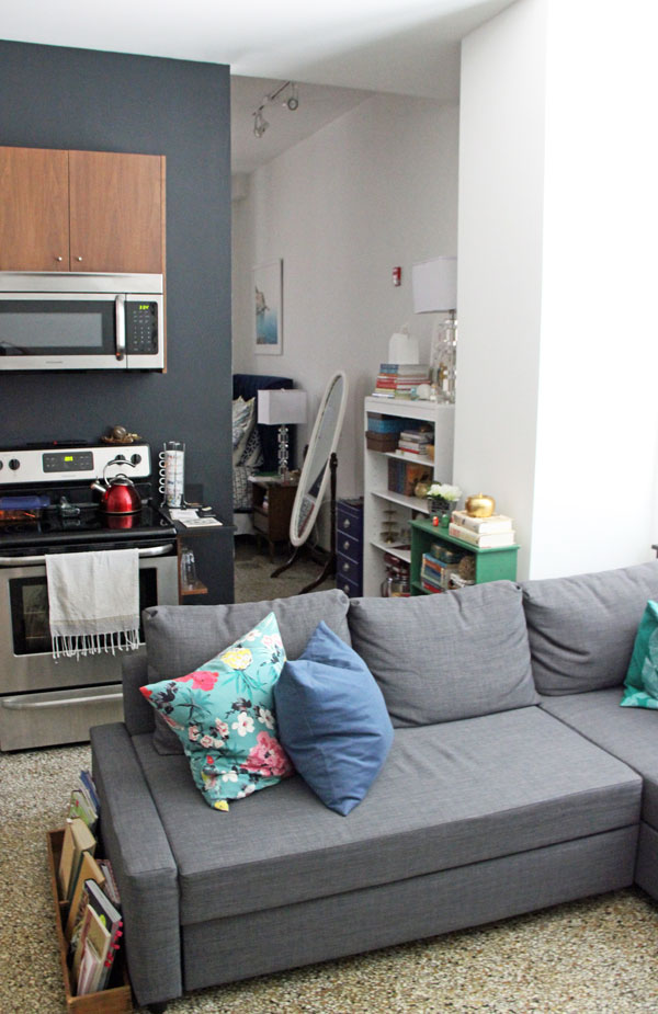 Studio Apartment Tour my furnished studio apartment tour part 1